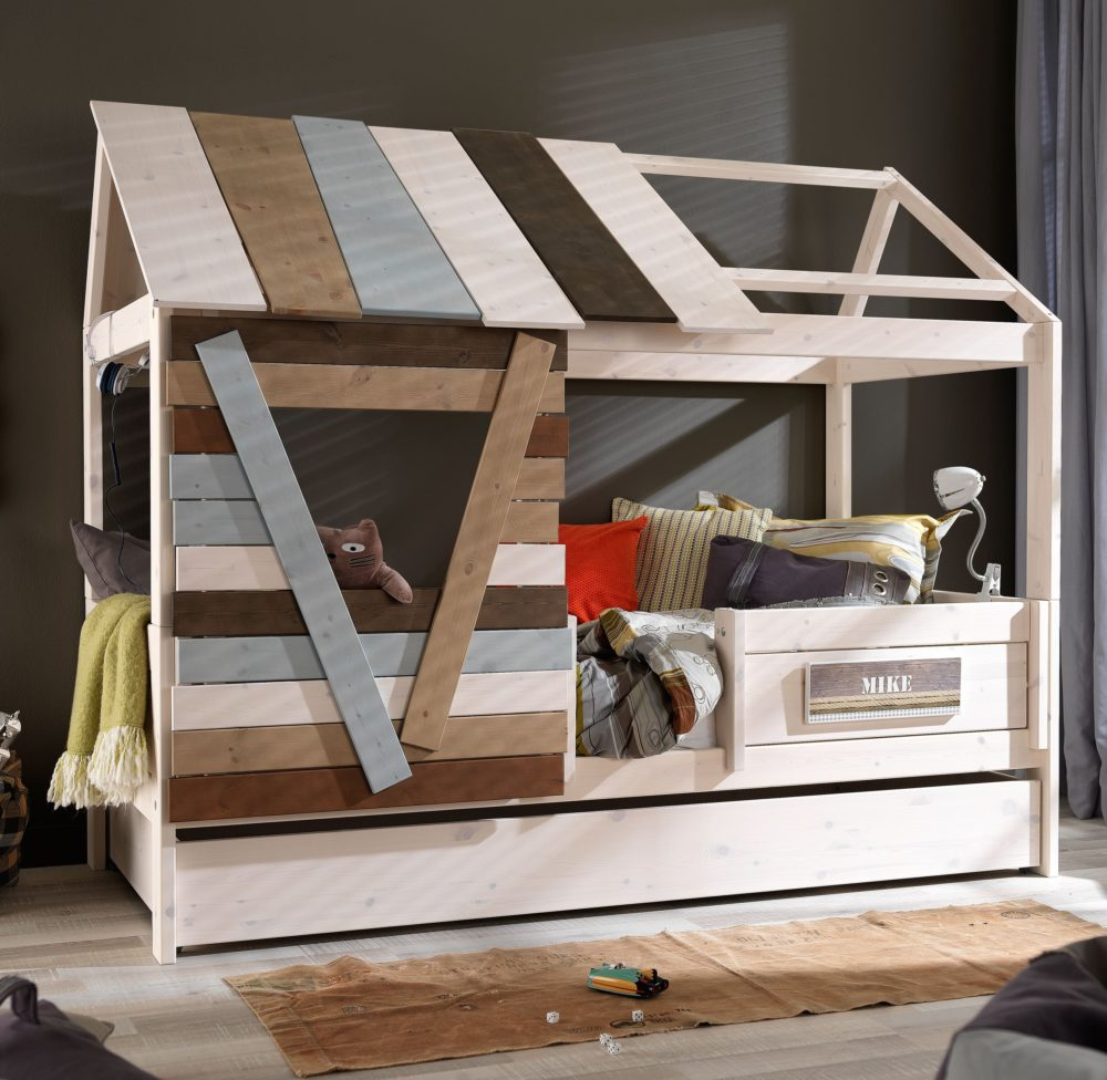 Tree House On A Bed Solid Wood For Children In S A