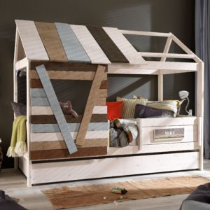Tree House on a Bed, Solid Wood by Lifetime Kidsrooms
