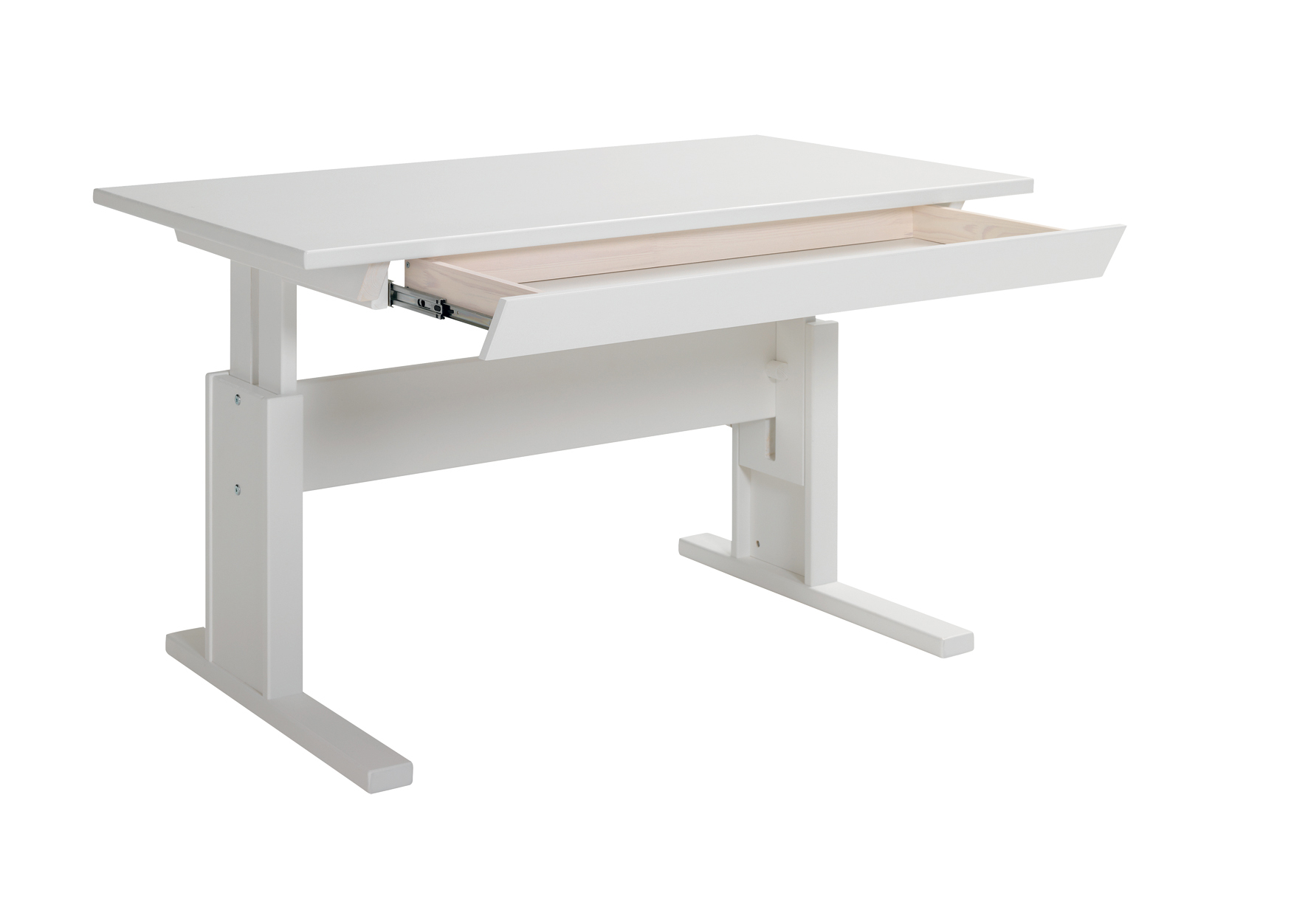 Writing Desk With Drawer Height Adjustable For Children