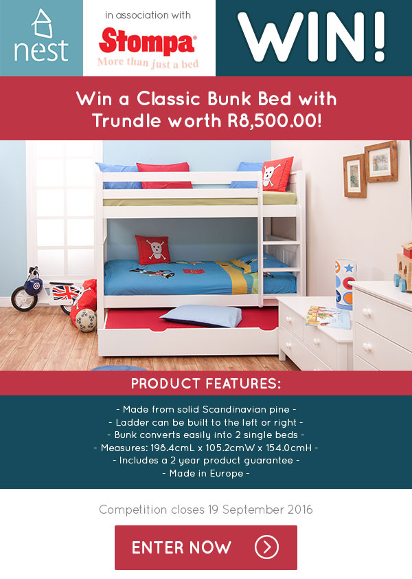Stompa Classic Bunk Bed Competition Nest Designs