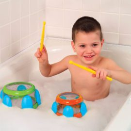 ALEX Toys Rub-a-Dub Tub Tunes Water Drums Bath Time Fun for Kids