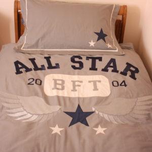 All Star Applique Duvet Set (Single)