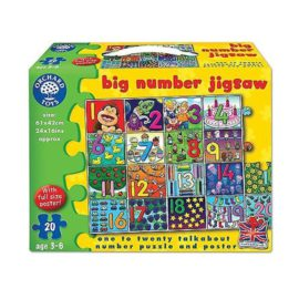 Big Number Jigsaw for Kids Puzzles Orchard Toys