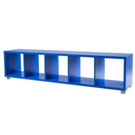 Bloc 5 Cube Storage Unit Colum Vertical Horizontal Flexible Modular Storage for Kids Royal Blue