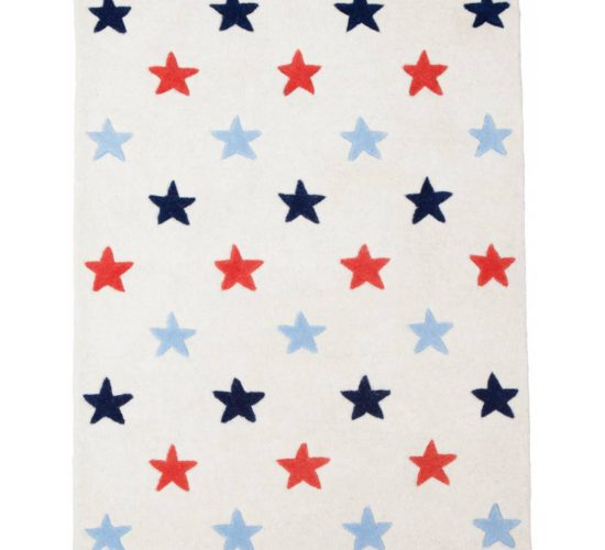 Blue Star Rug (Large)