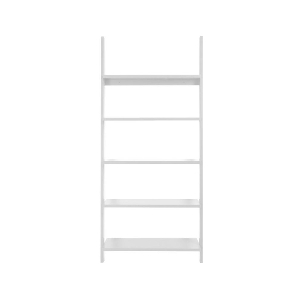 carlton leaning bookcase  white for kids in south africa - carlton leaning bookcase with  shelves  white