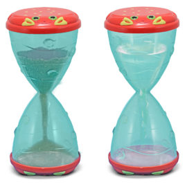 Clicker Crab Hourglass Sifter & Funnel Melissa & Doug Beach and Pool Toys Sandpit Kids