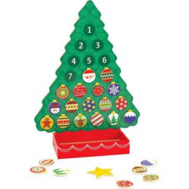 Countdown to Christmas Wooden Advent Calendar Melissa and Doug for Kids