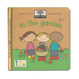 In the Garden Book for Kids Reading Green Start Cover