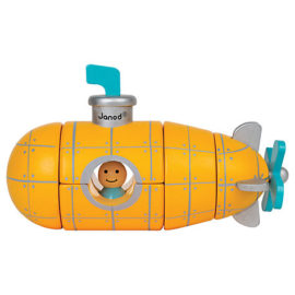 Magnetic Submarine for Children Toddlers Wooden Toys Early Years Janod
