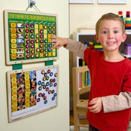 My Magnetic Responsibility Chart Melissa & Doug for Children Wooden