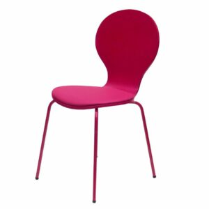 Penn Chair with Padded Seat - Fuchsia