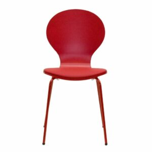 Penn Chair with Padded Seat - Red