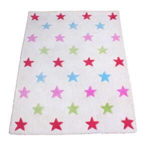 Pink Star Rug (Large)