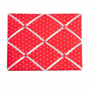 Fabric Message Board - Red Star