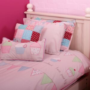 Tea Party Applique Duvet Set (Single)