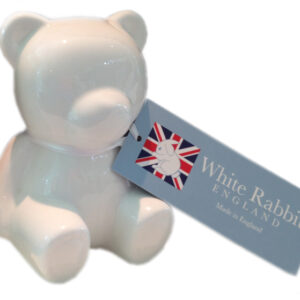 Teddy Money Box - Fine Bone China