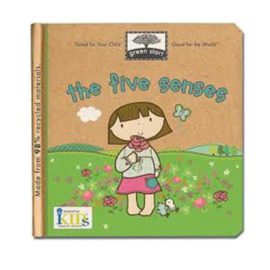 The Five Senses Book for Kids Reading Green Start Cover