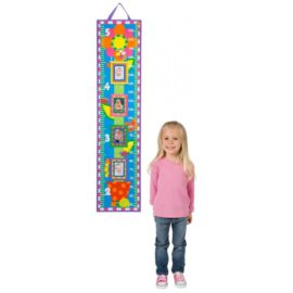 Watch me Grow Height Chart for Kids In My Garden Girls