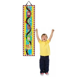 Watch me Grow Height Chart for Kids On my Road Boys