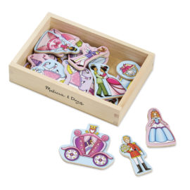 Wooden Princess Magnets for Kids Girls Pretend Play Toys Melissa & Doug