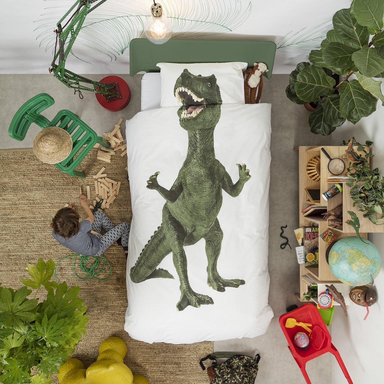 Dinosaur Duvet Set White Single For Children In S A