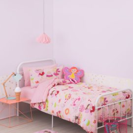 fairy-party-duvet-set-for-kids-girls-pink-bedding-bed-linen-cotton