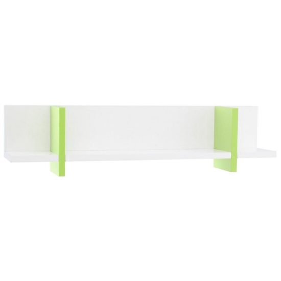 Anywhich Way Wall Shelf - Lime by Little Folks
