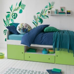 Frooti Cabin Bed - Lime by Little Folks
