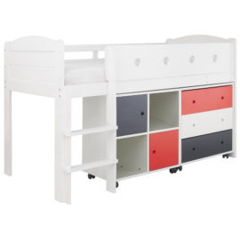 frooti-midsleeper-bed-system-with-chest-of-drawers-storage-bookcase-for-kids-girls-boys-bedroom-children-white-red-blue-space-saver-bed