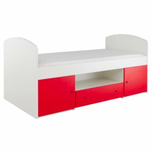 Frooti Cabin Bed - Red by Little Folks