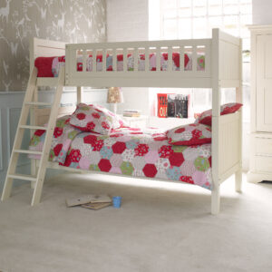 Fargo Bunk Bed - Ivory White by Little Folks