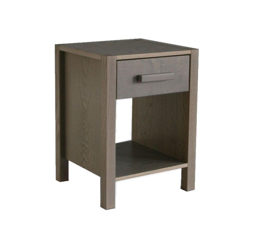 Solid Ash Bedroom Furniture Woodland Nightstand Grey Ash By Little Folks For Children Kids