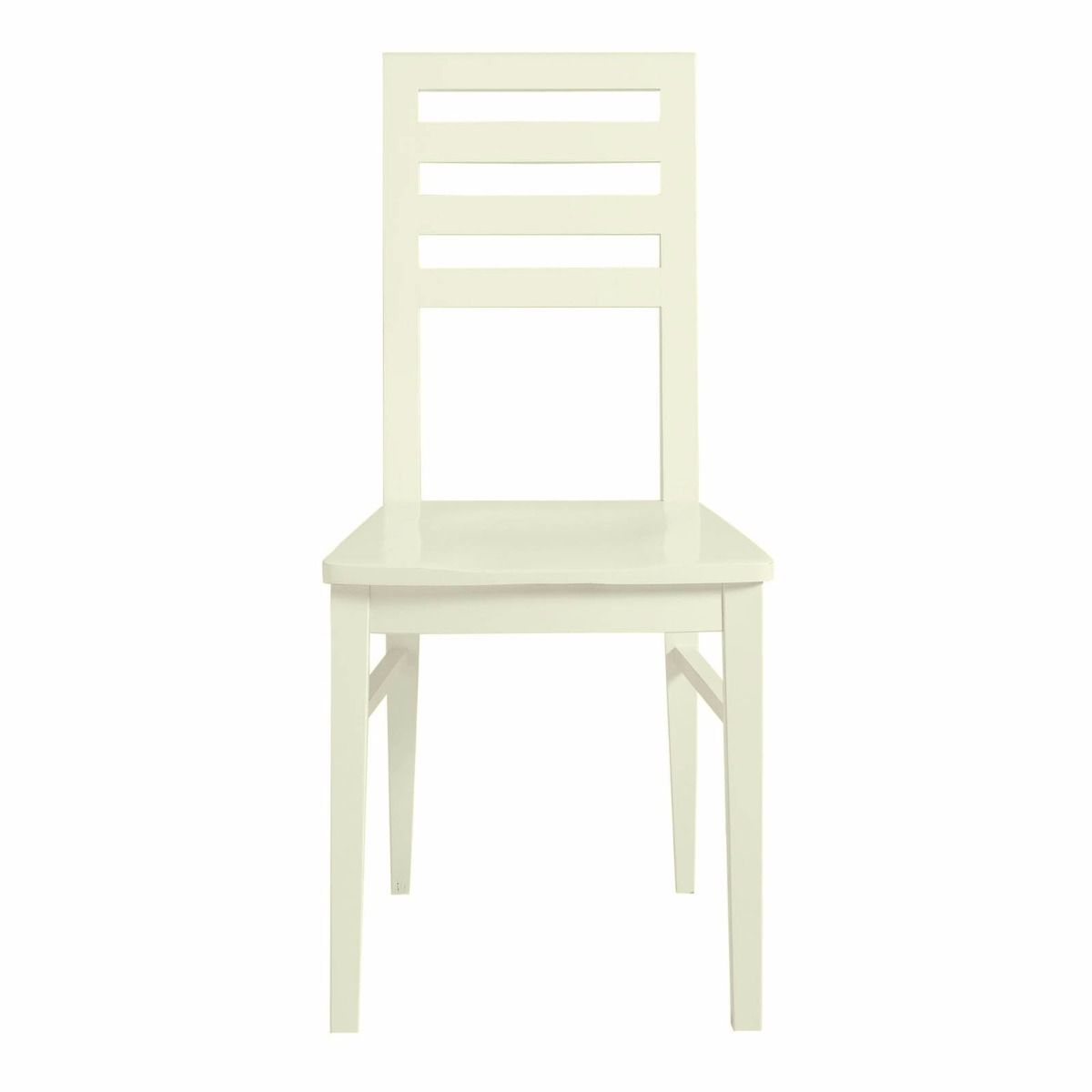 Fargo Ladderback Chair - Ivory White by Little Folks