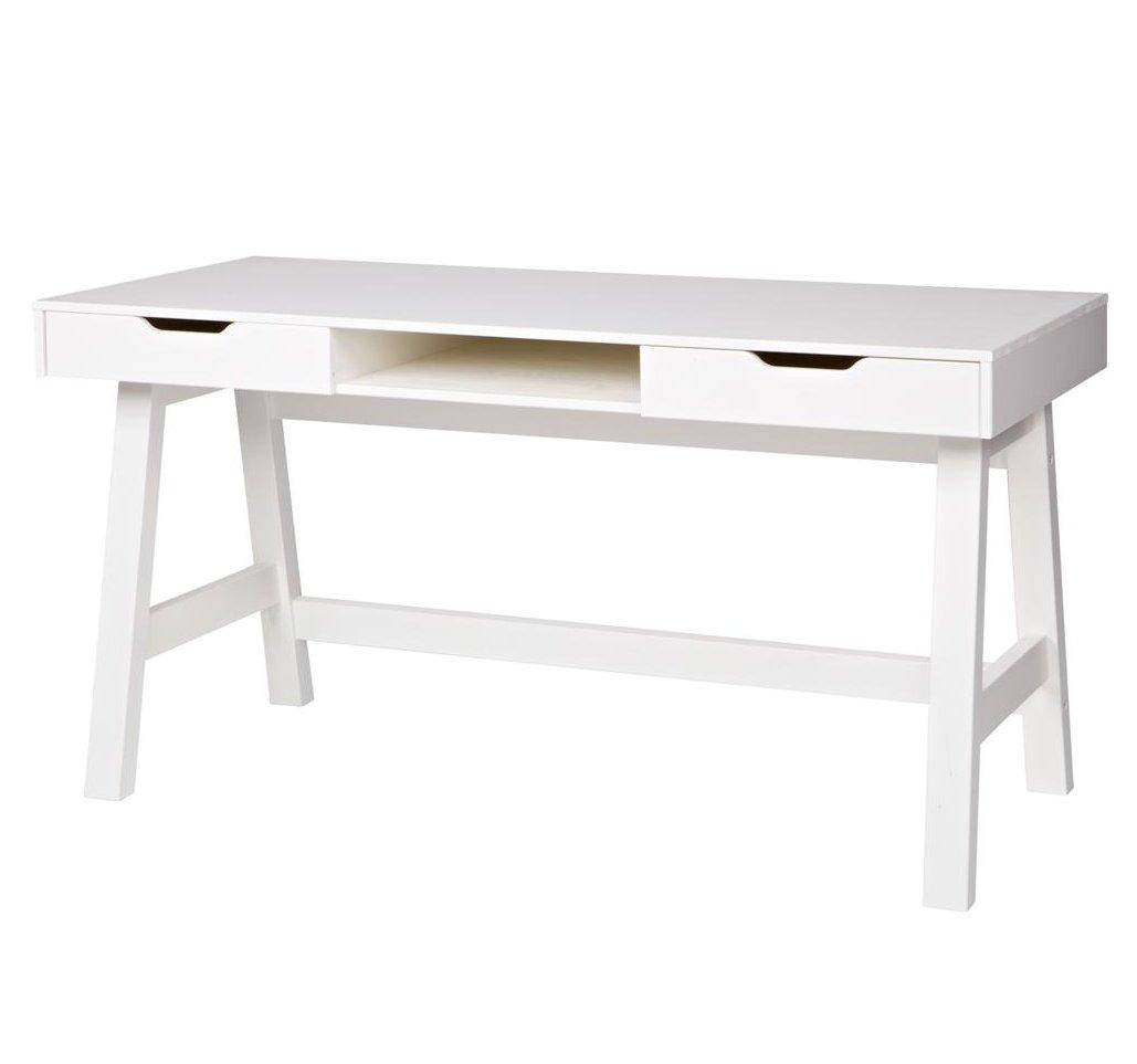 Nikki Desk White