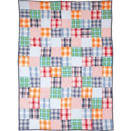 harrison-single-quilt-for boys bedroom bedding patchwork kids room
