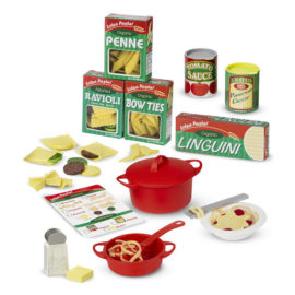 melissa and doug prepare and serve pasta set pretend play kids cooking