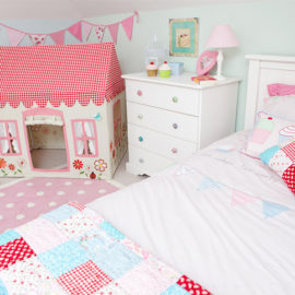 Tea Party Girls Bedroom
