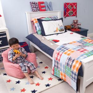 Trucks & Diggers Boys Bedroom