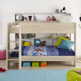 CHARLY Bunk Bed for Kids Bedroom Shared Spaces Acacia Children