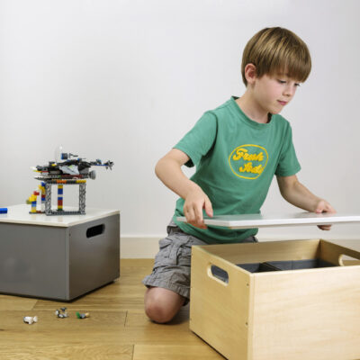 Stack Up Sort Box without Lid - Natural by Tidy Books®
