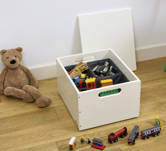 Stack Up Sort Box - White by Tidy Books®