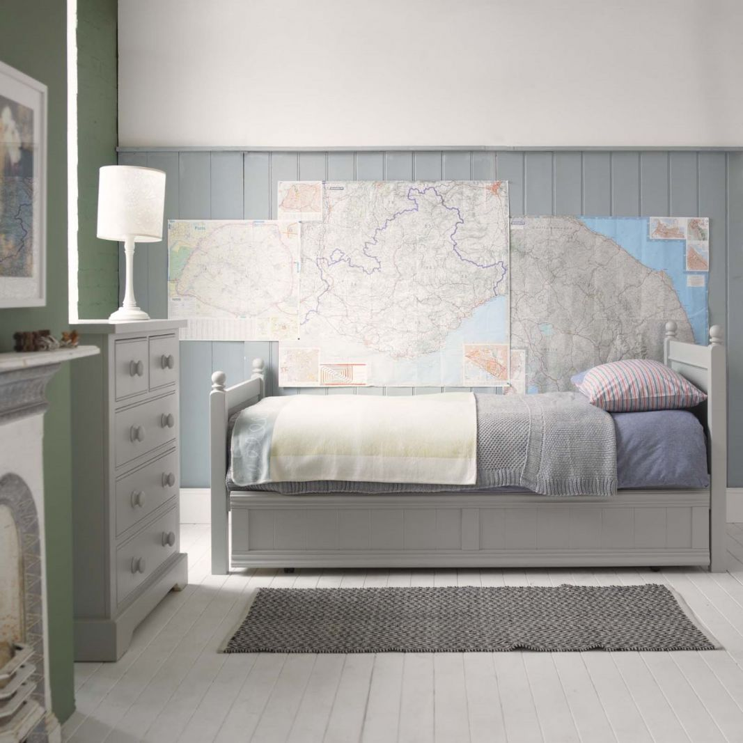 Fargo Single Bed - Farleigh Grey by Little Folks