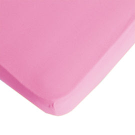 Fitted Sheet - Pink 200 x 90cm Single Extra Length by Lifetime Kidsrooms kids Bedding Bedrooms Children Pure Cotton