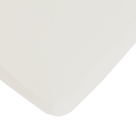 Fitted Sheet - White (200 x 90cm) by Lifetime Kidsrooms