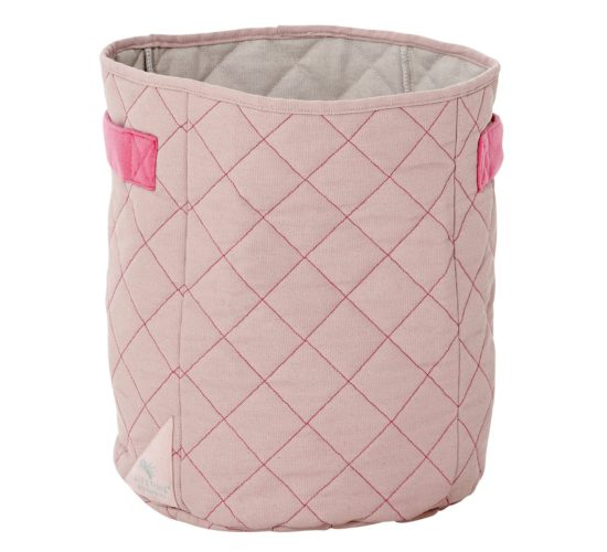 Quilted Fabric Toy Basket - Wild Child by Lifetime Kidsrooms