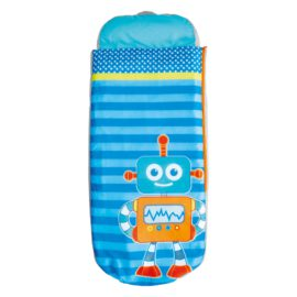 Robots ReadyBed Sleeping Bag Airbed Bed 2in1 Kids Children Toddler Travel Sleepover Guest Camping, Inflatable Mattress
