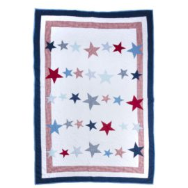 Big Star Boys Quilt Bedding Bedroom Decor Children Pure Cotton Coverlet
