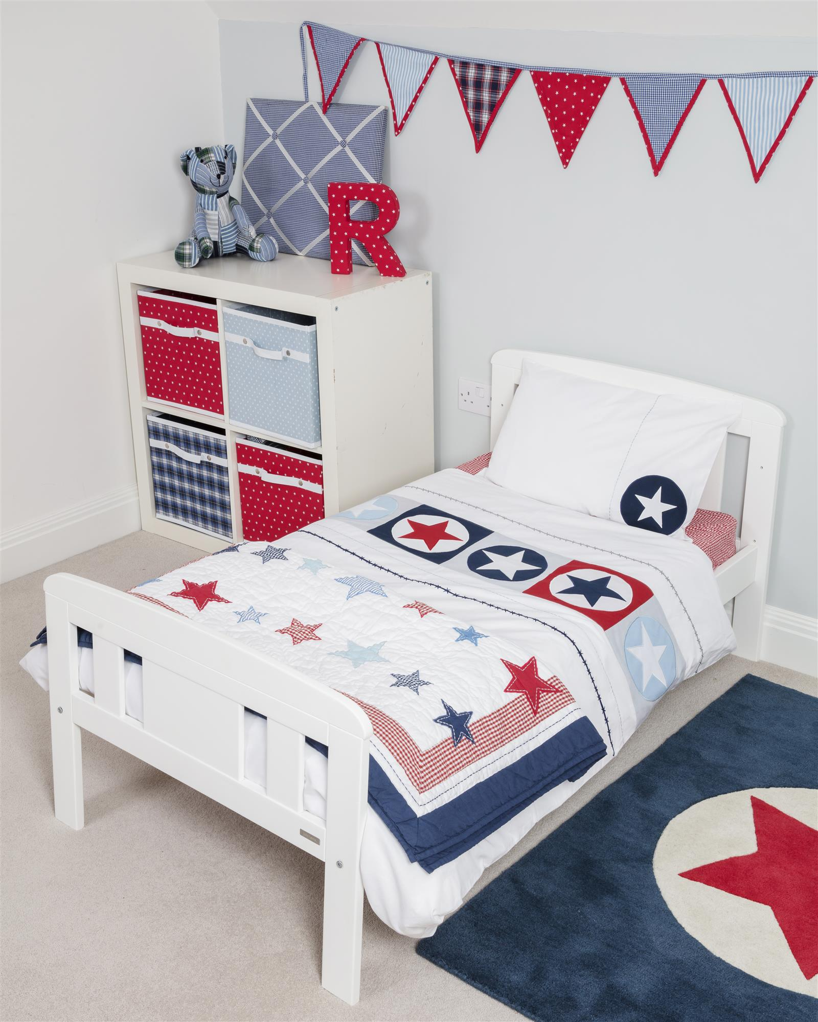 master hayneedle twin product bed ball upholstered powellupholsteredsoccerballtwinheadboard powell cfm bedding headboard soccer