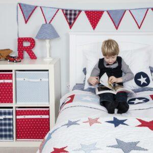 Big Star Applique Duvet Set (Single)